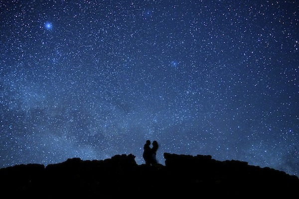 Death Valley Astro Engagement Photography Session