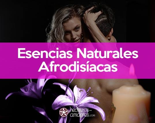 ¿Qué Esencias Naturales Afrodisíacas Funcionan Mejor? Sexo y Amor